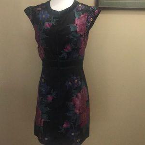 NWOT Nanette Lenore Black front zip dress sz 2
